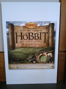 Eat Middle-earth Style at Denny's this Fall! Exclusive Photos!
