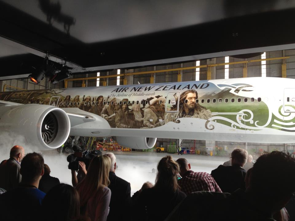 Air New Zealand Shows Off 'Hobbit' Plane