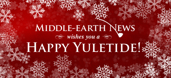 From all of us at Middle-earth News, Happy Yuletide!