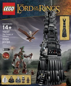 LEGO Shows Off Tower of Orthanc