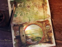 Middle-earth In Watercolor: An Exclusive Interview with Artist Kinko White