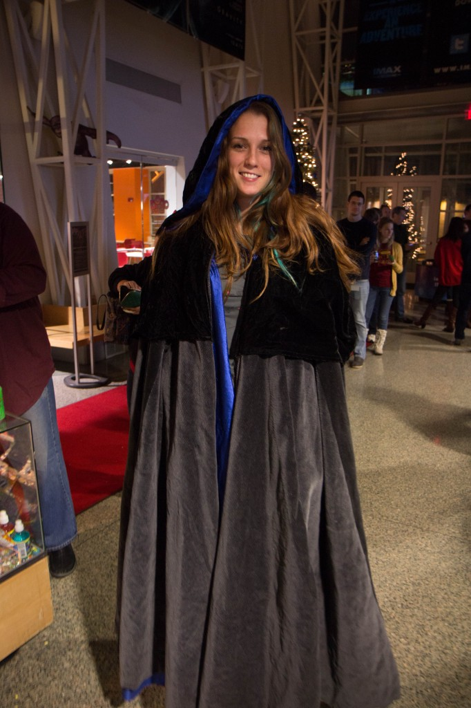 A fan in costume at 2013 Hobbit DOS Line Party - Image Copyright Tyler Hawkins