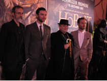 Swiss premiere of 'The Hobbit: The Desolation of Smaug'