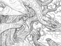 Color Your Own Dragon with John Howe's 'Draconis'
