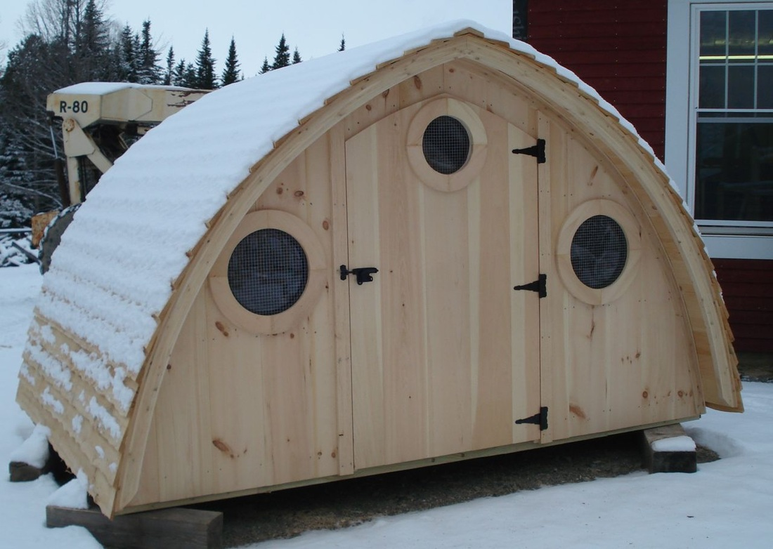 Harfoot Hobbit Hole Chicken Coop