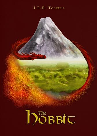 Marta's cover design for 'The Hobbit'