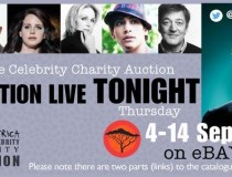 Actors Donate to African Charity Auction