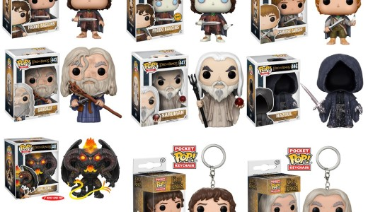 'Lord of the Rings' Funko Pops! to be Released in June (+ New Images)