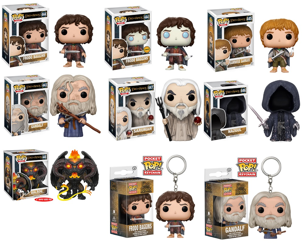New Lord of the Rings Funko Pops