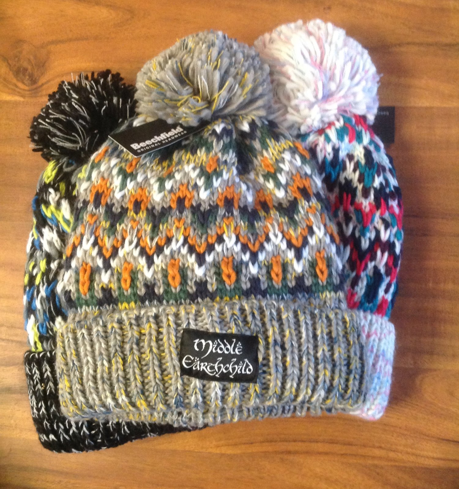 "03cc5e1c0d1 ""Middle Earthchild Bobble Hat"" by Lupine Heart Clothing. Photo credit  Lupine  Heart Clothing."
